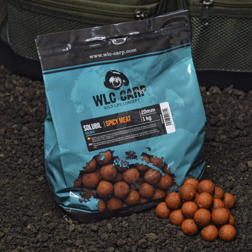 boilies solubil spicy meat